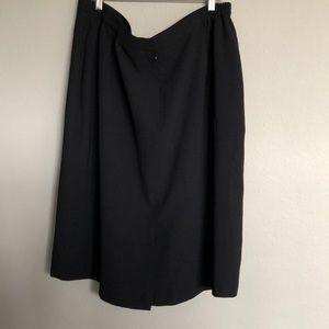 Kasper Womens Solid Straight Pencil Skirt (22W)